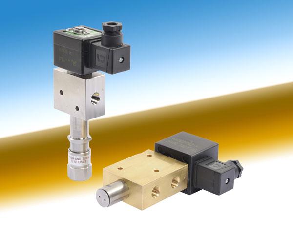 ASCO Numatics电磁阀手动操作的压力下是可移动的