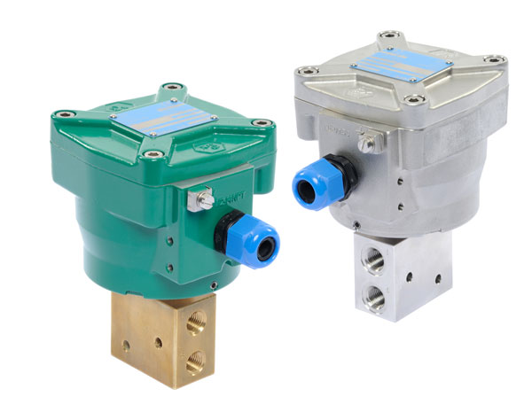 ASCO Numatics本质安全(Ex i防爆)直动式电磁阀,用于在恶劣环境下使用