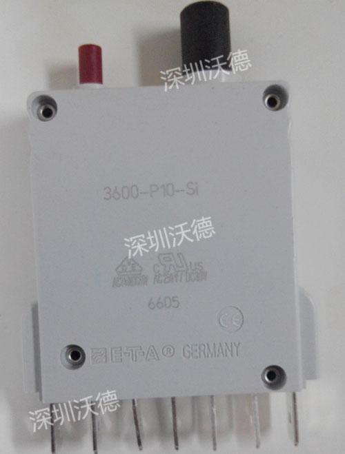 ETA断路器3600-P10-SI-1A/4A/6A实拍图