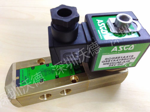 ASCO电磁阀SCG551A419实拍图